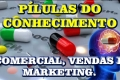 Comercial, Vendas e Marketing.